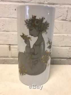 Vintage German Rosenthal Studio Linie Porcelain Bjorn Wiinblad Samuramat Vase