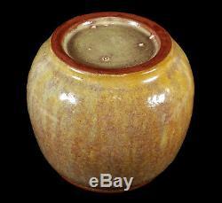 Vintage Herbert Sanders California Studio Art Pottery Vase Midcentury Modern