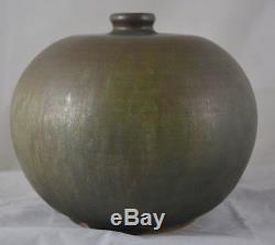 Vintage Herbert Sanders Studio Pottery Vase c. 1962 Mid Century Modern