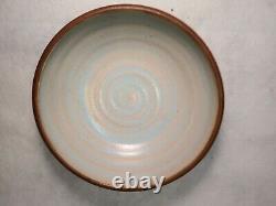 Vintage JT Abernathy Studio Pottery, Bowl, 7.62 Diameter, 2.5 Tall