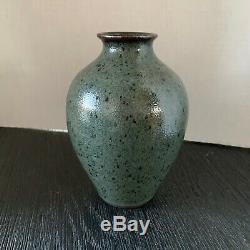 Vintage JUGTOWN WARE Studio Art Pottery Vase 7 North Carolina