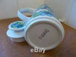 Vintage J&G Meakin Spring Morning coffee pot Studio ware
