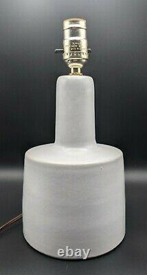 Vintage Jane Gordon Martz Marshall Studios Ceramic Pottery Table Lamp MCM signed