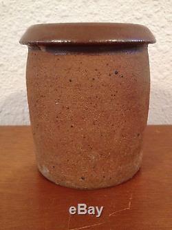 Vintage Jane Reuter Hitzeman Signed Studio Pottery Vase / Small Jug