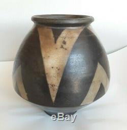 Vintage John Bedding St Ives Studio Art Pottery Vase Signed & Marked