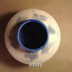 Vintage John Bogard for Planet X Studios Studio Pottery Vessel