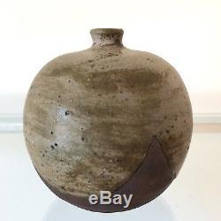 Vintage Karl Martz Studio Signed American Art Pottery Weedpot Vase Indiana