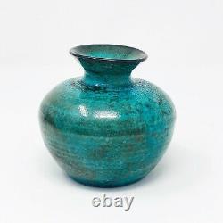 Vintage Kjeld & Erica Deichmann Studio Art Pottery Vase New Brunswick Canada