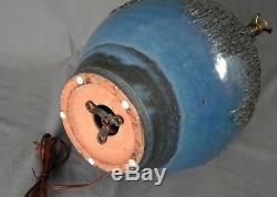 Vintage Lee Rosen Design Technics Lamp Ceramic MID Century Studio Pottery Huge