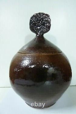 Vintage Les Blakebrough Exhibition Urn Pot Sturt Studio Australian Pottery