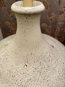 Vintage MCM David Cressey Speckled Ceramic Table Lamp(RARE)