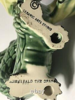 Vintage Madison CERAMIC ARTS STUDIO Archibald The Dragon Size 6-7/8 X 6