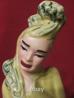 Vintage Madison Ceramic Arts Studio Water Man And Water Lady Figurines