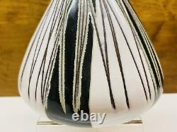 Vintage Mari Simmulson Upsala Ekeby Studio Signed Pottery Vase 9.5