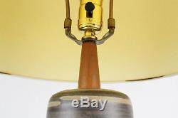 Vintage Martz, Marshall Studios Mid Century Modern Lamp with Shade