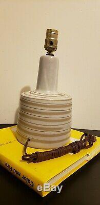 Vintage Martz Marshall Studios Pottery Table Lamp MCM mid century Danish modern