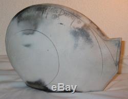 Vintage Mary Gates Dewey 1990 Sitting Cat Signed Studio Ceramics Sculpture