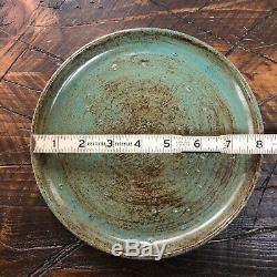 Vintage McCarty Pottery Studio Merigold Mississippi Signed 8 Plate