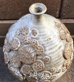 Vintage Mid Century 1960s Willett Studio Weed Pot Studio Pottery Vase 9.5 Tall