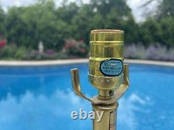 Vintage Mid Century Bob Kinzie Affiliated Craftsman 26 Studio Art Pottery Lamp
