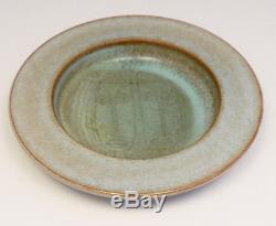 Vintage Mid Century Edwin Mary Scheier Sgraffito Studio Art Pottery 2 Faces Bowl