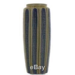 Vintage Mid Century Japanese Redware Studio Pottery Vase Signed in Kanji 1960s