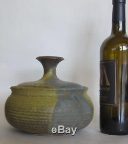 Vintage Mid-Century Joel Edwards NY CA Studio Art Pottery Stoneware Pot Voulkos