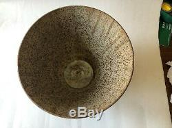 Vintage Mid Century Modern 1960's 1970's Studio Pottery Decorative Vessel Vase