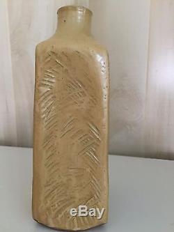 Vintage Mid Century Modern Edna Arnow Chicago Studio Art Pottery Vase Signed
