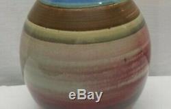 Vintage Mid Century Modern George Scatchard Ceramic Studio Art Pottery Lamp 92