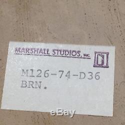 Vintage Mid-Century Modern Marshall Studio MARTZ Art POTTERY Swirl VASE