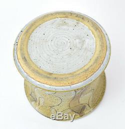 Vintage Mid Century Modern Studio Pottery Vase by Alan Vigland