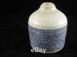 Vintage Mid-Century R. Peeler Indiana DePauw Studio Art Pottery Stoneware Pot