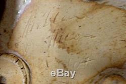 Vintage Milton Moon Exhibition Dish Bowl Australian MID Century Pottery Studio