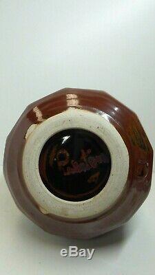 Vintage Reg Preston Australian Pottery Studio Vase