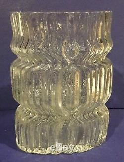 Vintage Rosenthal Studio Line Tapio Wirkkala Glass Vase
