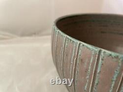 Vintage Scandinavian Studio Pottery Bowl Danish Modern Marked Jacob Bang Era