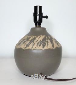 Vintage Signed Jane & Gordon Martz for Marshall Studios Ceramic Table Lamp