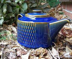 Vintage Soholm Danish Studio Art Pottery Pot Mid Century Modern Maria Philippi