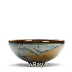 Vintage Studio Colour Glazed Bowl Alan Ward 20th C