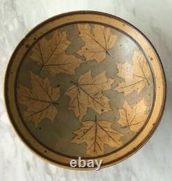 Vintage Studio Pottery Bowl Signed 18