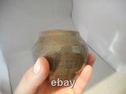 Vintage Studio Pottery Bulbous Vase Signed ROGERS