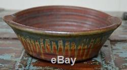 Vintage Studio Pottery Casserole Bowl by Ellen Shankin, NC