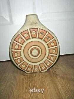 Vintage Studio Pottery Ceramic Lamp Base Louis Hudson Retro