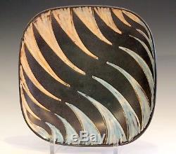 Vintage Studio Pottery E & J Anderson Danish MCM Raymor Scandinavian Plate Tray