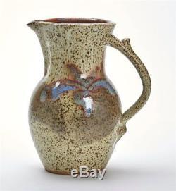 Vintage Studio Pottery Jug By Clive C Pearson 1991