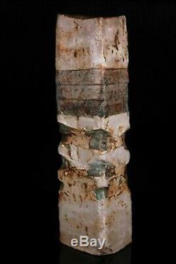 Vintage Studio Pottery Totem Vase Alan Wallwork Circa 1970 33cm