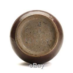 Vintage Studio Pottery Vase Signed Gilchrist 1939