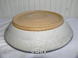 Vintage Timothy Weber Main Avenue OOAK Studio Pottery Abstract Wall Art or Bowl