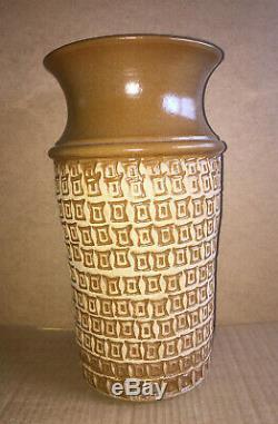 Vintage Vase Hal Laskey Los Artesanos Puerto Rico Studio Pottery 1950s Unique